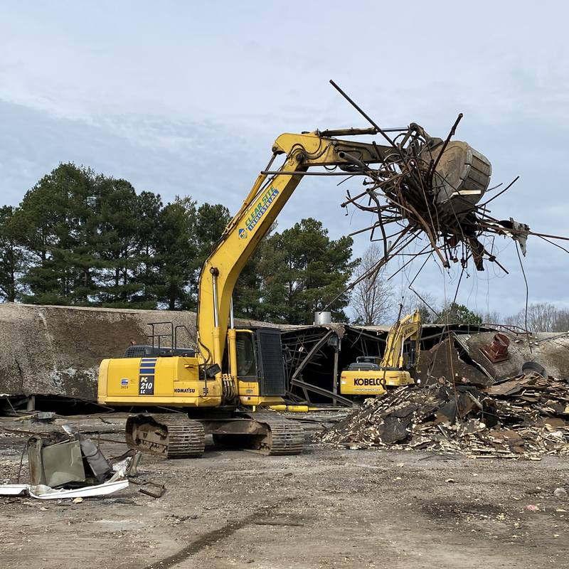 CSI wrecking at Apex NC demolition services