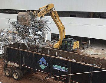 CSI Demolition site recycling